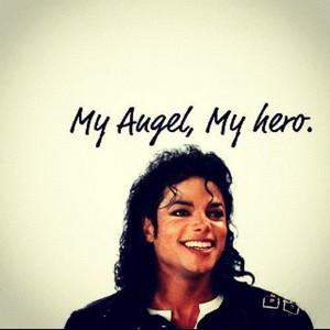 my angel,my hero