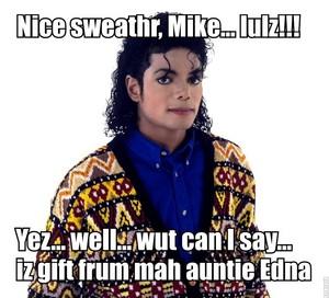 ♥ Michael's sweather ♥