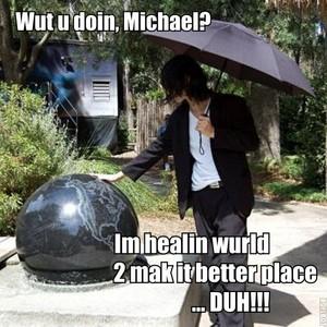 ♥ Michael healing the world ♥