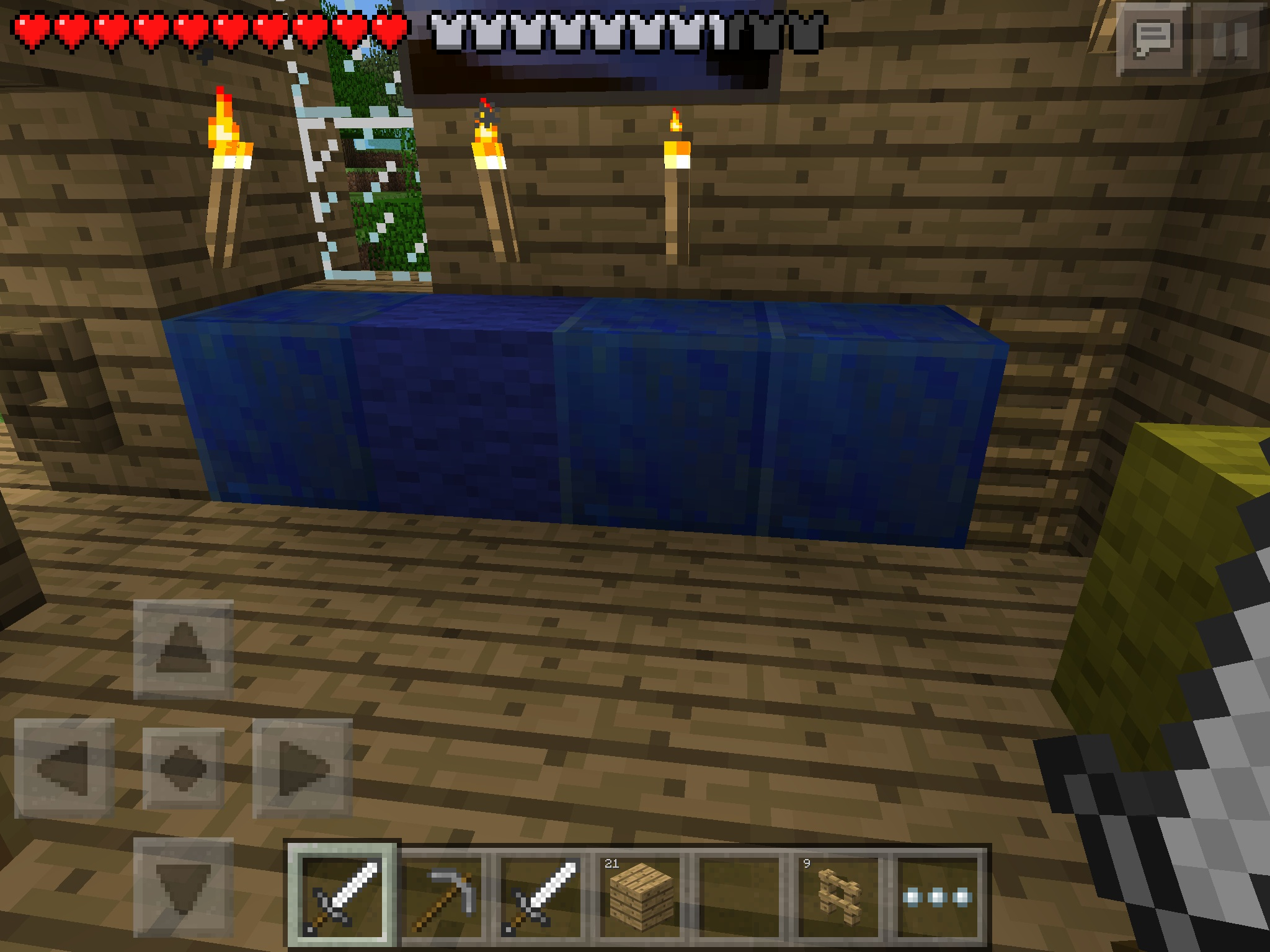 Minecraft pocket edition images my sister found a bunch of lapis minecraft pocket edition images my sister found a bunch of lapis lazuli hd wallpaper and background photos voltagebd Images