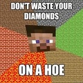 Da hoe! :3 - minecraft photo