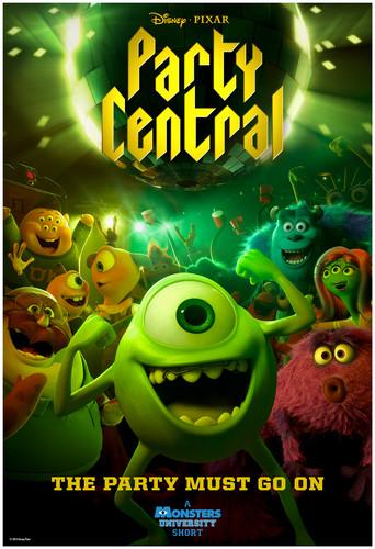 Monster's università wallpaper containing Anime called Monsters università Oozma Kappa Party Central Short Film