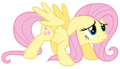 Fluttershy Is scared - my-little-pony-friendship-is-magic fan art