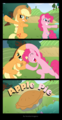 apple jack and pinkie pie fusion - my-little-pony-friendship-is-magic photo
