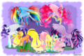 mane 6 alicorn  collection - my-little-pony-friendship-is-magic photo