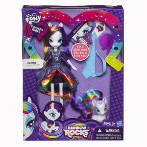 Equestria Girls: радуга Rocks Toys