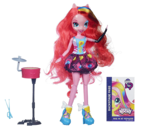 Equestria Girls: 彩虹 Rocks Toys