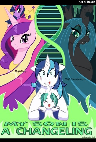 My Little pony - Freundschaft ist Magie Hintergrund with Anime called A Changeling Son