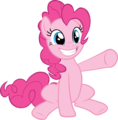 Pinkie Pie Vectors - my-little-pony-friendship-is-magic photo