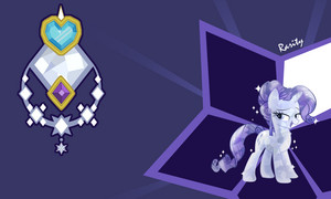 Crystal Ponies wallpaper
