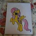 Fluttershy as a Crystal Pony - my-little-pony-friendship-is-magic fan art