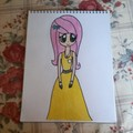 Fluttershy as a Human - my-little-pony-friendship-is-magic fan art