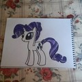 Rarity as a Crystal Pony - my-little-pony-friendship-is-magic fan art