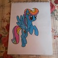 Rainbow Dash as a Crystal Pony - my-little-pony-friendship-is-magic fan art