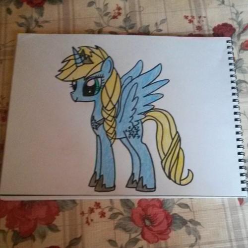 My Little ngựa con, ngựa, pony - Friendship is Magic hình nền possibly containing anime titled Elsa as a ngựa con, ngựa, pony Nữ hoàng băng giá