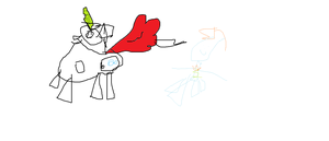 mlp pony oc and sparkle regenbogen dash