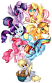 Pony Chibis  - my-little-pony-friendship-is-magic photo