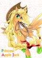 Princess Applejack - my-little-pony-friendship-is-magic photo