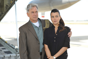 Gibbs and Ziva in the Airport