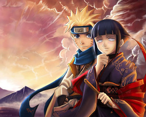Sixth Hokage Наруто and his wife, Hinata~sama