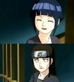 Neji and Hinata smiling at each other - naruto-couples-%E2%99%A5 photo