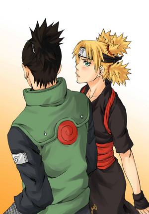 ShikaTema (Shikamaru and Temari)