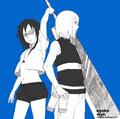 Suigetsu Hozuki and Karin