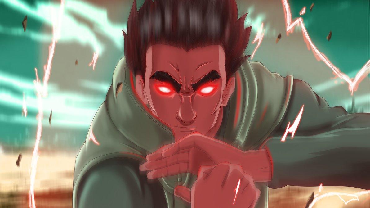 Gai the red beast naruto shippuuden photo 36756038 for Gai sensei 8 portes
