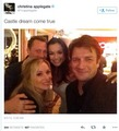 Nathan and Christina Applegate - nathan-fillion-and-stana-katic photo