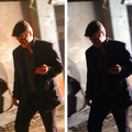 Nathan-BTS 6x20 - nathan-fillion-and-stana-katic photo