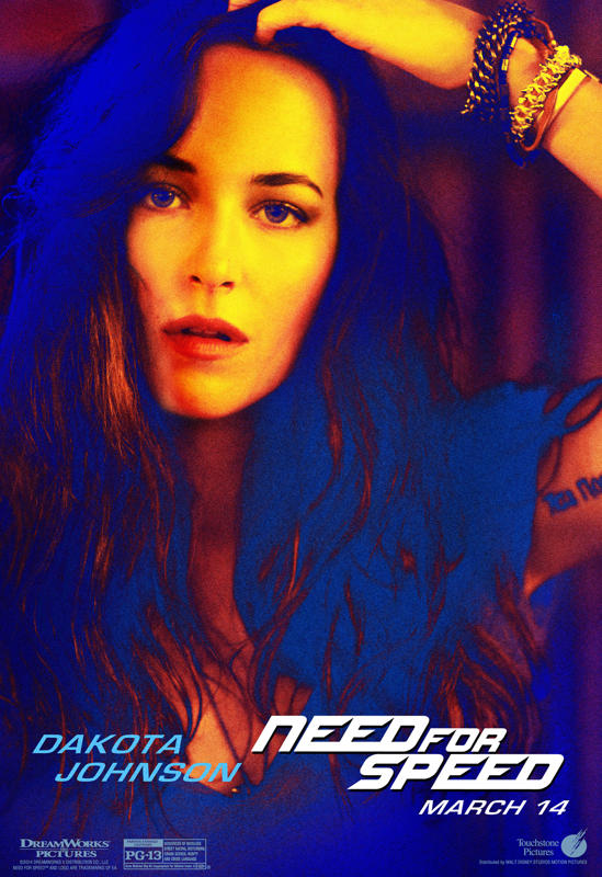 Need For Speed The Movie Character Poster - Need for Speed