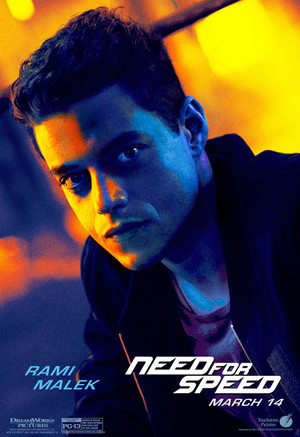 Need For Speed The Movie Character Poster