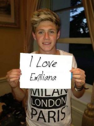 Niall Horan love you