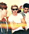 Louis, Niall and Zayn - niall-horan photo
