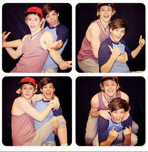 Niall and Louis <3