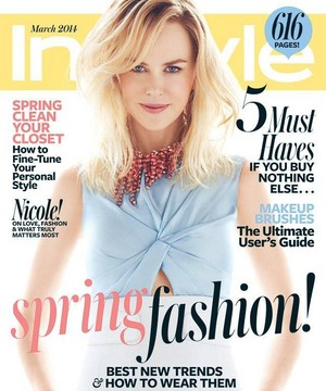 InStyle Magazine March 2014