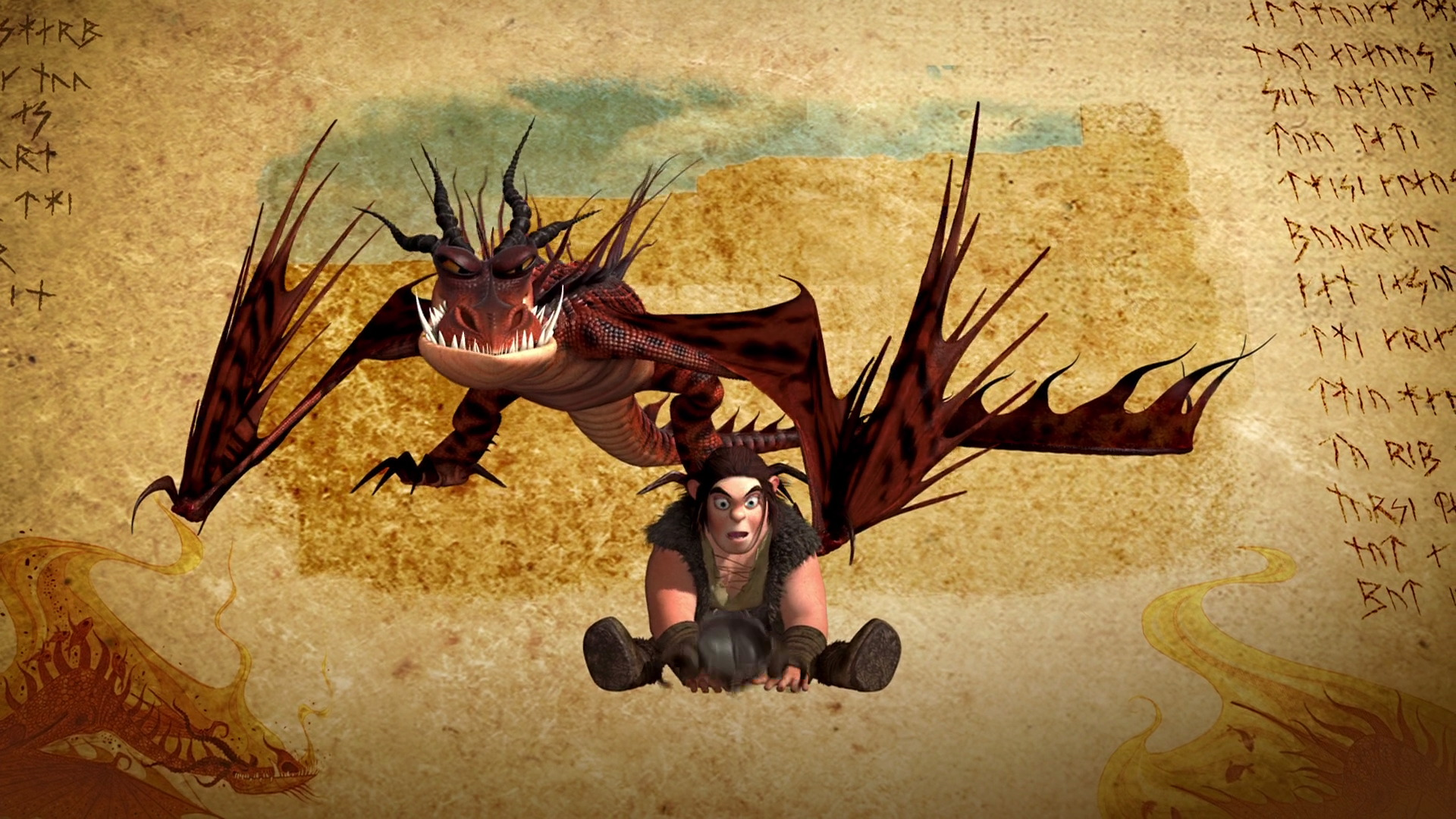 Nightmare The Dragon Images Hookfang And Snotlout Hd