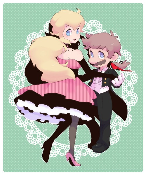персик and Mario ^^