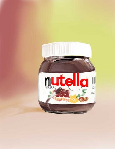 Nutella Hintergrund possibly containing a multivitamin, a sweet pickle, and a brot and butter beizen, pickle entitled nutella------------------------