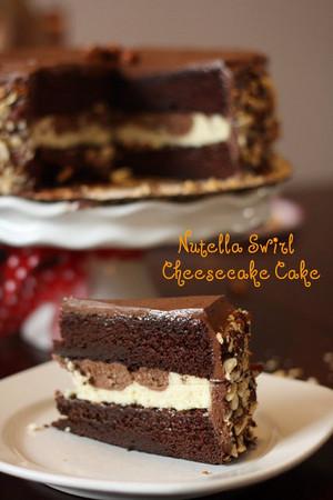 nutella cake----------♥