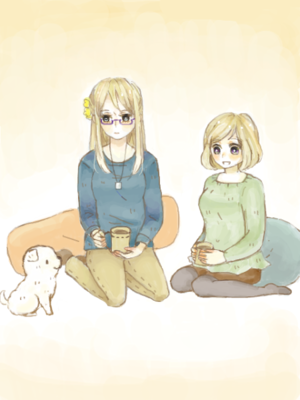 Nyo!Finland and Sweden~