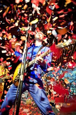 I think OK Go likes confetti.