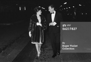 Official reception of Dance at the Champs-Elysees theatre. Paris, 1963.