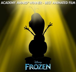 Frozen Academy Award Winner Best Animated Feature Film