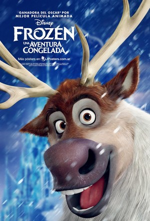 frozen Sven Poster