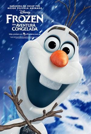 Nữ hoàng băng giá Olaf Poster