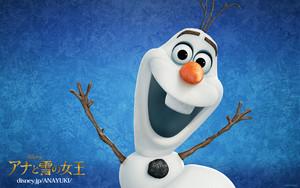 Olaf Japanese hình nền