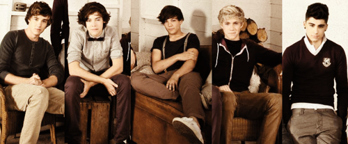 One Direction Up All Night Photoshoot