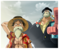 *Luffy / Franky* - one-piece photo