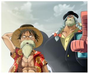 *Luffy / Franky*